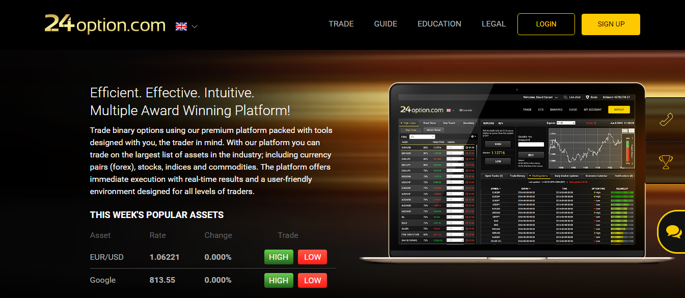 I option binary trading'