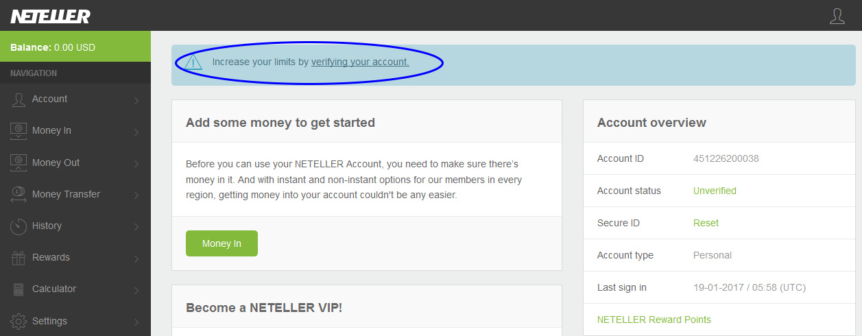 how to very card attached to neteller account - sinhala tutorial for Sri Lankans