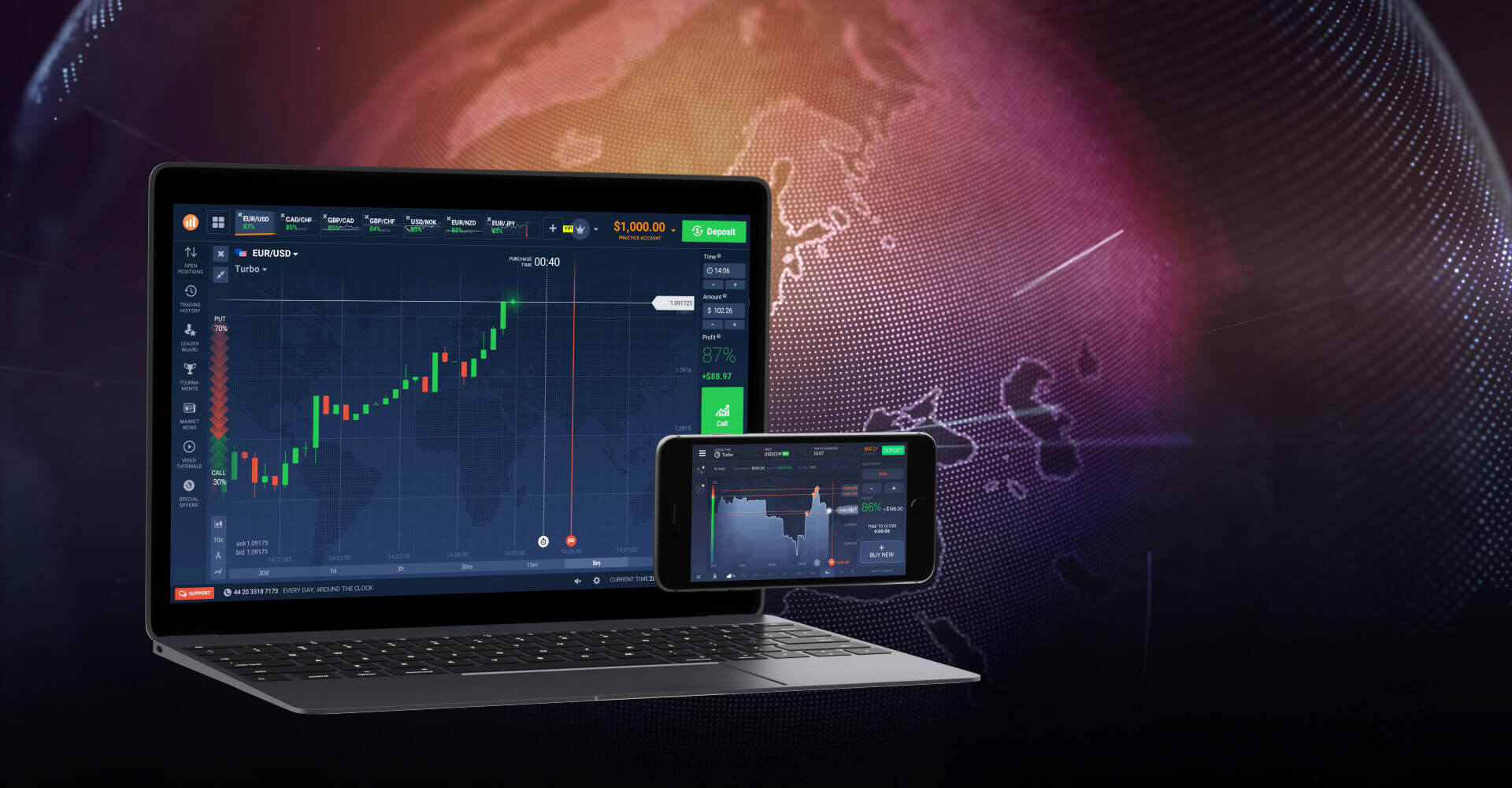 iq options modern binary trading platform for new traders in Sri Lanka - by prathilaba sinhala binary tutorials