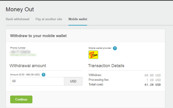 neteller to ezcash withdrawal in english by prathilaba