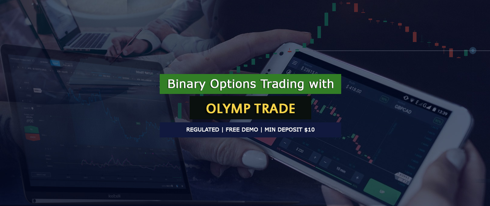 Regulated binary options online trading