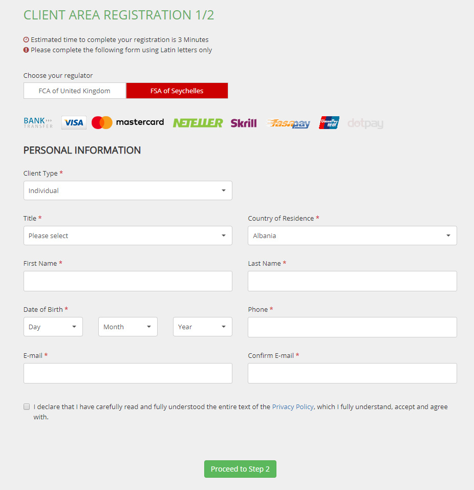 Create-Account-with-Tickmill-client-area-registration