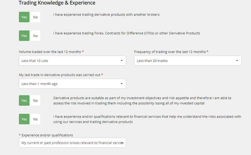trading-and-experience