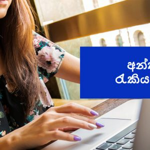 Online full time or part time jobs in Sinhala Sri Lanka